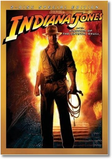 Indiana Jones and the Kingdom of the Crystal Skull DVD Cover
